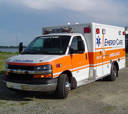 Emergency Ambulane Page compressor