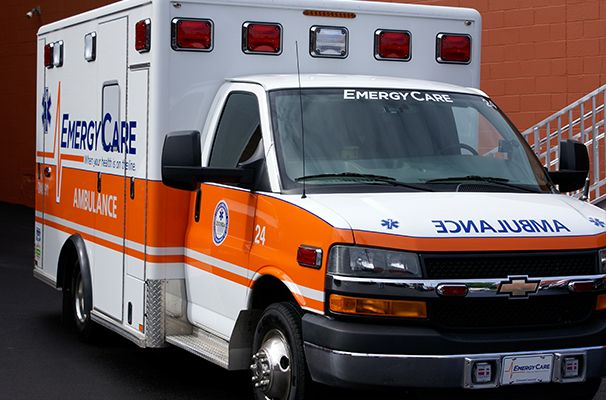 Non Emergrency Ambulance Page compressor
